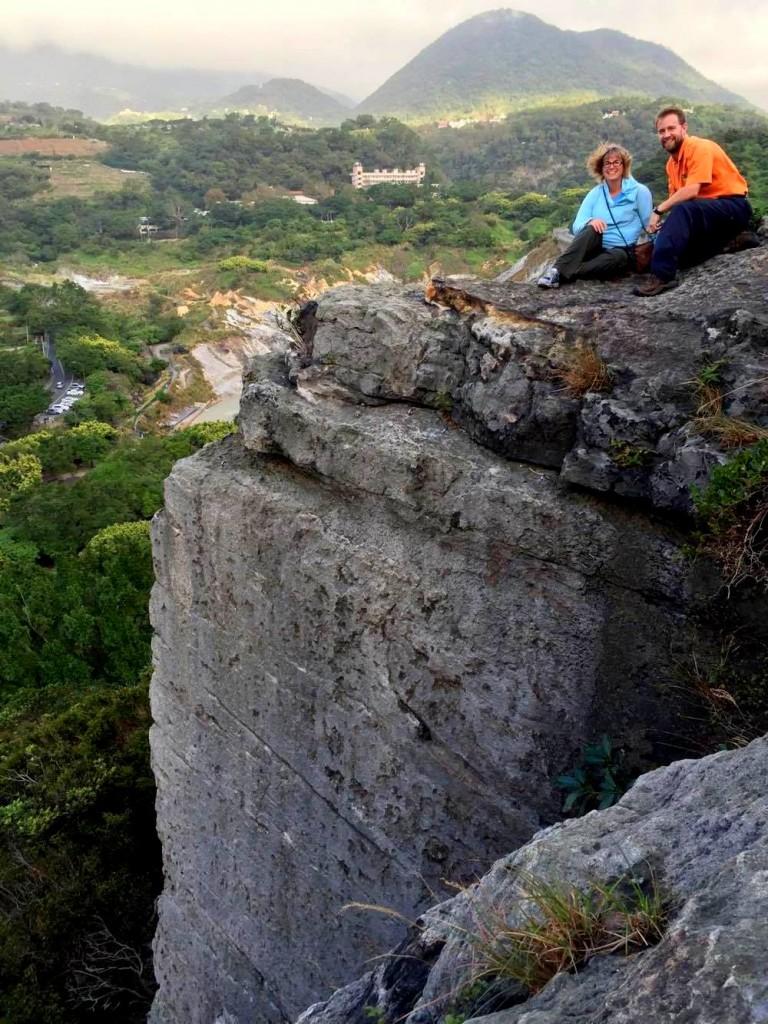Amazing rock climbing experience in Yanming Mt.