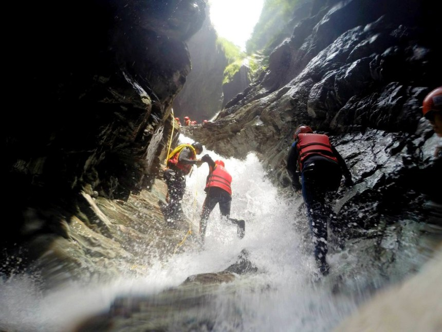 Crazy rivertracing in Hualien