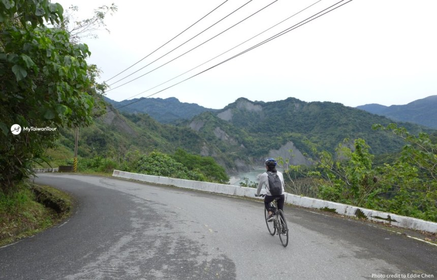 cycling route in Taiwan_shiding2