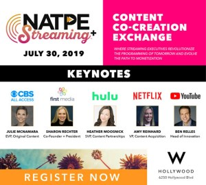 Register Now for NATPE Streaming+