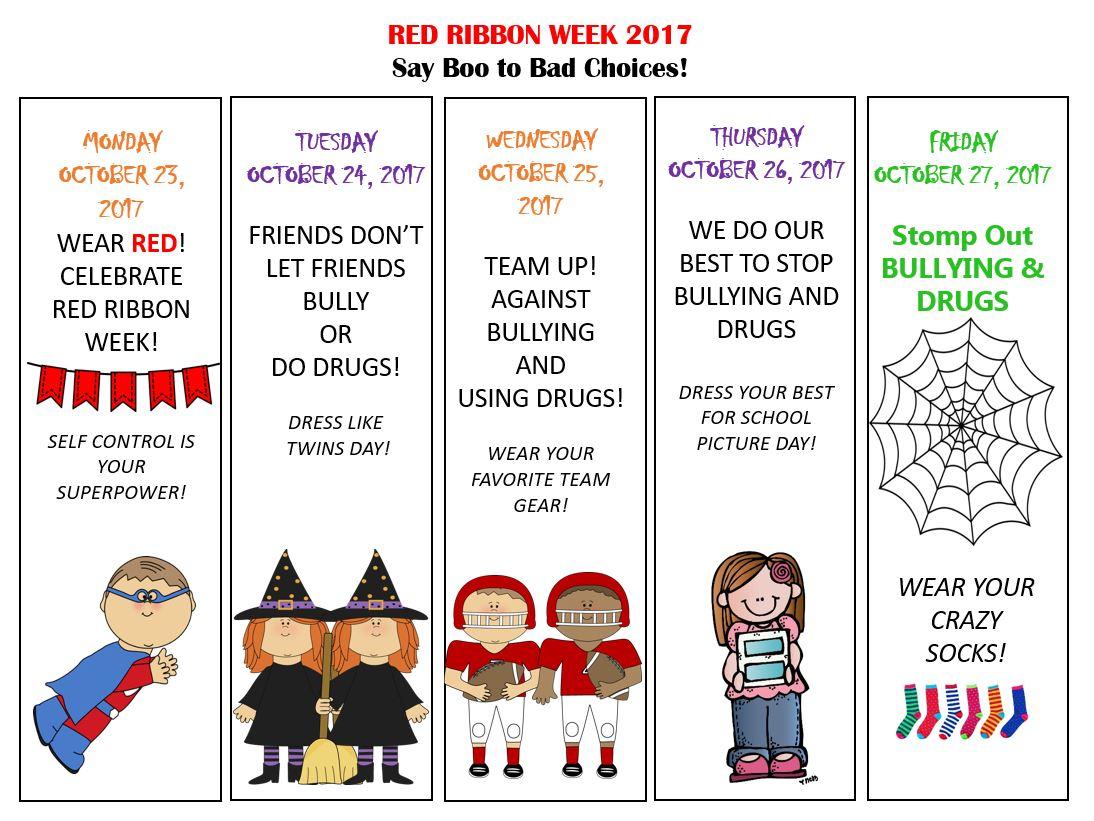 Red Ribbon Week Lincoln Elementary School