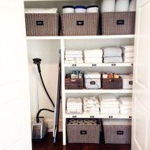 9 Ways Organize Linen Closet Ll Make Feel