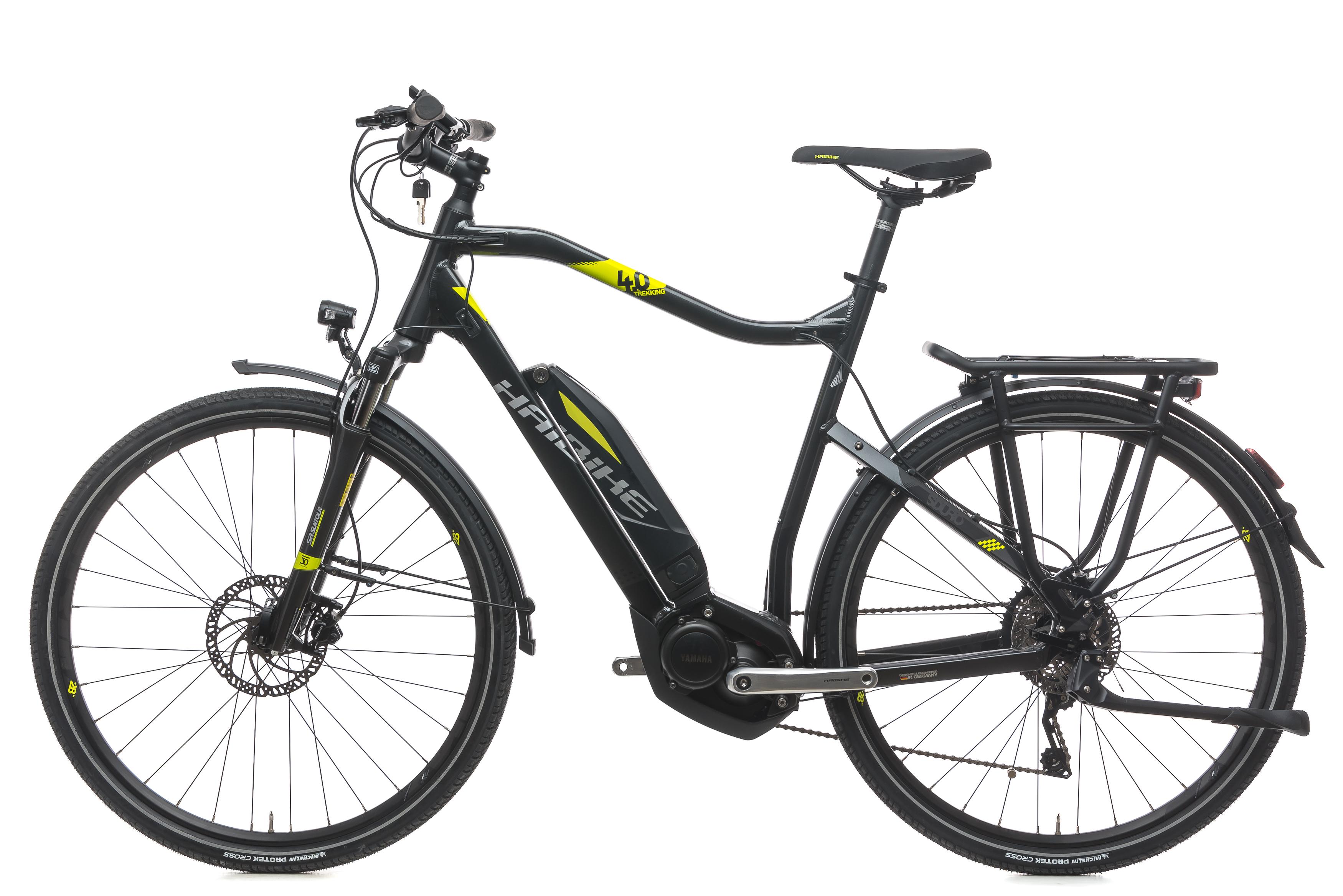 2018 Haibike SDURO Trekking 4.0 Hybrid E-Bike Large Alloy