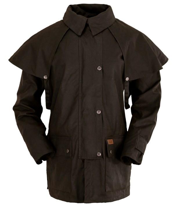 Outback Trading . Bush Ranger Jacket Mens Brown 100