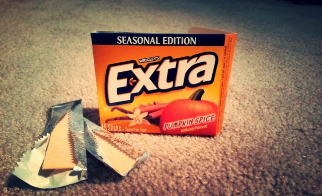 Extra's Pumpkin Spice gives that latte-licious zip I just fa-la-la-la-love to celebrate any holiday season with.