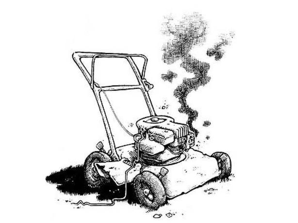 Looking for broken unwanted lawnmowers and small engines
