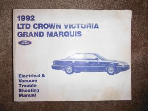 1992 Ford LTD Crown Victoria Grand Marquis Electrical