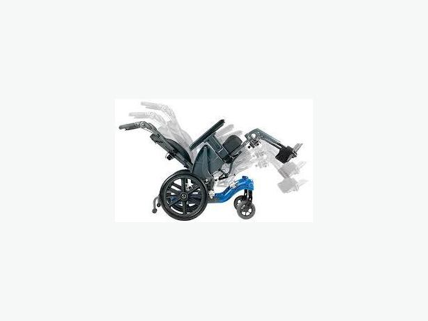 Tilt-in-space wheelchair Fuze T50 18x18 Burnaby (incl. New