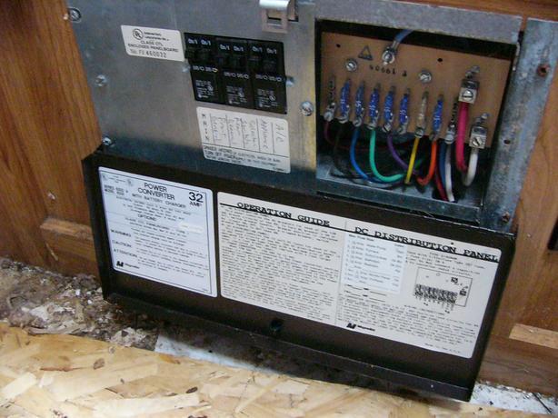 Magnetek 6345 Wiring Diagram Power Converter 32 Amp Model 6332 With Battery Charger