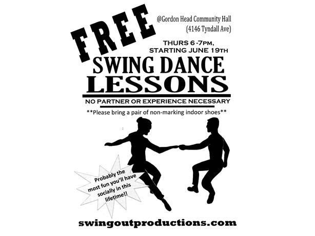Free Beginner Swing Dance Lessons! Victoria City, Victoria