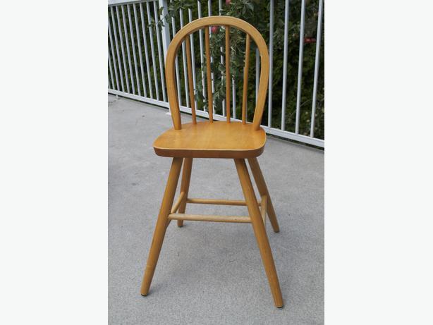 Ikea Solid Wood Junior Chair Esquimalt  View Royal
