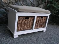 Crate and Barrel storage bench Victoria City, Victoria