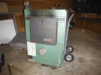 Wood burning furnace with hot water tank Qualicum ...
