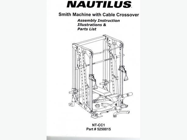 Nautilus Smith Machine with cable crossover Esquimalt