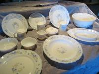 12 Place Setting Dinnerware Set - Plus Extras (82 pieces ...