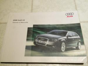 Audi A3 2006 original owners manual for sale for $10