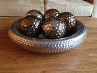 Decorative Coffee Table Bowl & Spheres East Regina, Regina