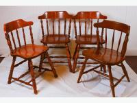 Kitchen chairs x 4, solid wood Saanich, Victoria