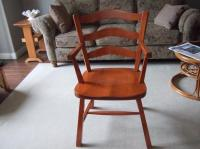 3 Captain chairs solid maple Parksville, Nanaimo