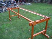 Vintage wood Quilting Rack West Shore: Langford,Colwood ...