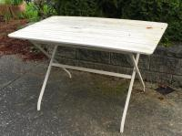 Ikea Malaro patio set (table and 4 chairs) Victoria City ...