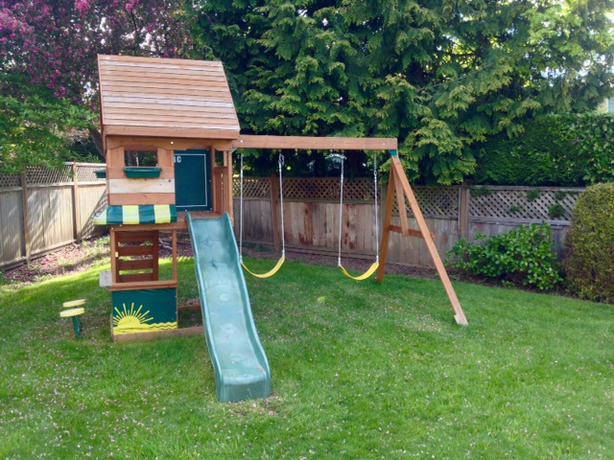 Big Backyard By Solowave 'monterrey' Playground Saanich