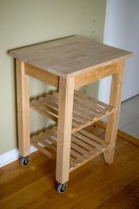 Ikea Bekvam Solid Birch Kitchen cart Gloucester, Gatineau