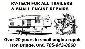 ALL SMALL ENGINE REPAIRS & TECHNICIAN FOR ALL TRAILERS ETC