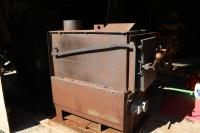 RSF Energy wood burning furnace with water boiler. South ...