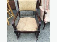 really old rocking chair Duncan, Cowichan