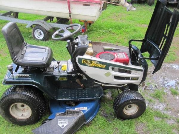 yard works 14 42 lawn tractor osgoode