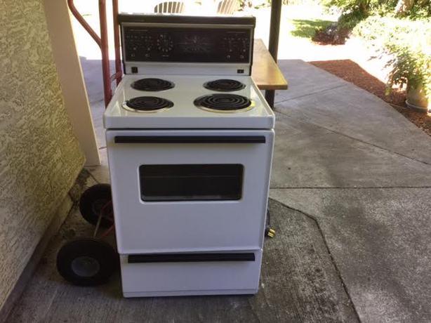 Range Oven Apartment Size Range Oven