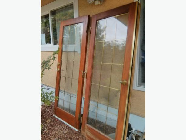 Used french doors Courtenay, Courtenay Comox