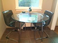 Ikea Salmi table and 2 Tobias Chairs Vancouver City ...