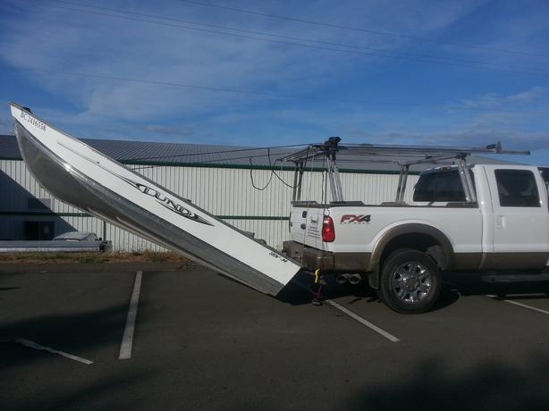 Boat Loader Aluminum Truck Rack North Saanich & Sidney