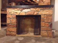 Imitation Masonry Fireplace Central Nanaimo, Parksville ...