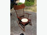 100+yr antique rocking chair West Shore: Langford,Colwood ...
