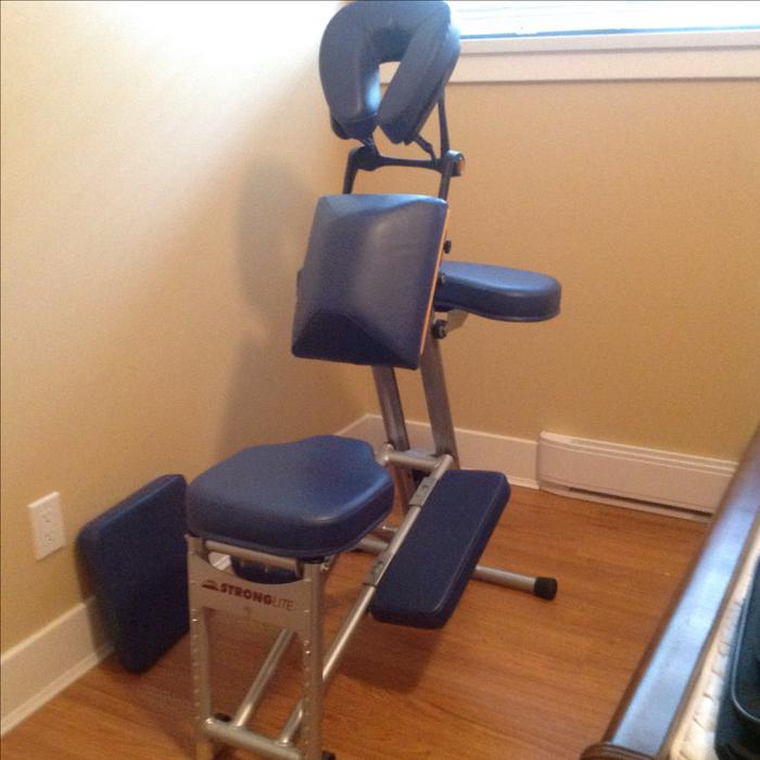 Portable Massage Chair Ergo Pro by Stronglite  Carry