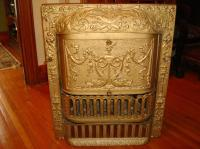 Reduced Price! Ornate Antique Fireplace Insert Central
