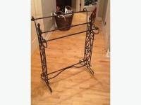 Decorative quilt rack - wrought iron Gatineau Sector ...