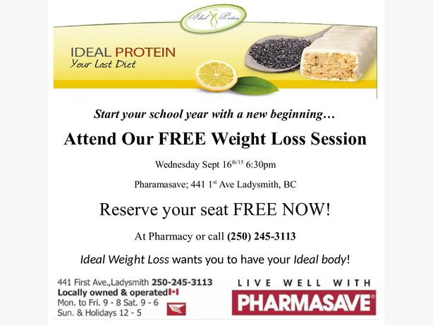 Ideal Protein Weight Loss Method Outside Nanaimo