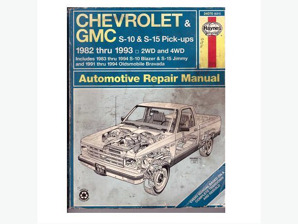 1993 Gmc S15 Jimmy Wiring Diagrams Online Repair Manuals