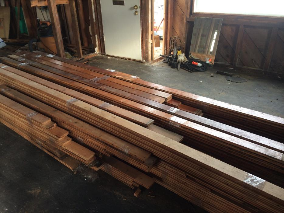 reclaimed vertical grain douglas fir flooring Campbell