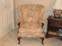 100 Year old Wing back chair Saanich, Victoria - MOBILE
