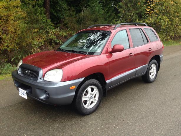 Excellent Condition 2004 Hyundai Santa Fe Courtenay