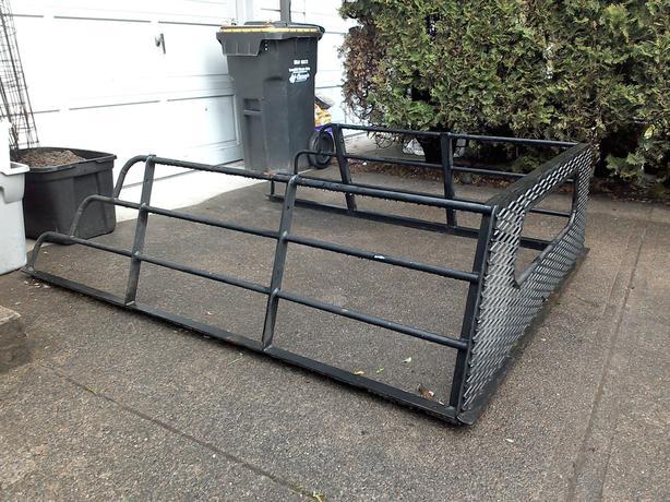 Steel heavy duty custom truck rack Squamish, Squamish