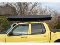 Thule cargo/ski box for roof rack Courtenay, Comox Valley