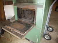 Wood burning furnace with hot water tank Qualicum, Nanaimo ...