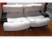 Mid-Century Danish Modern Sofa, Loveseat and Chair by n ...