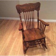 Amazon Rocking Chair Office Chairs Used Sale Antique Press Back West Regina, Regina